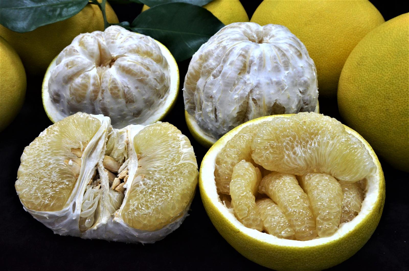 酸甜恰好正對時、來吃Juicy大白柚!