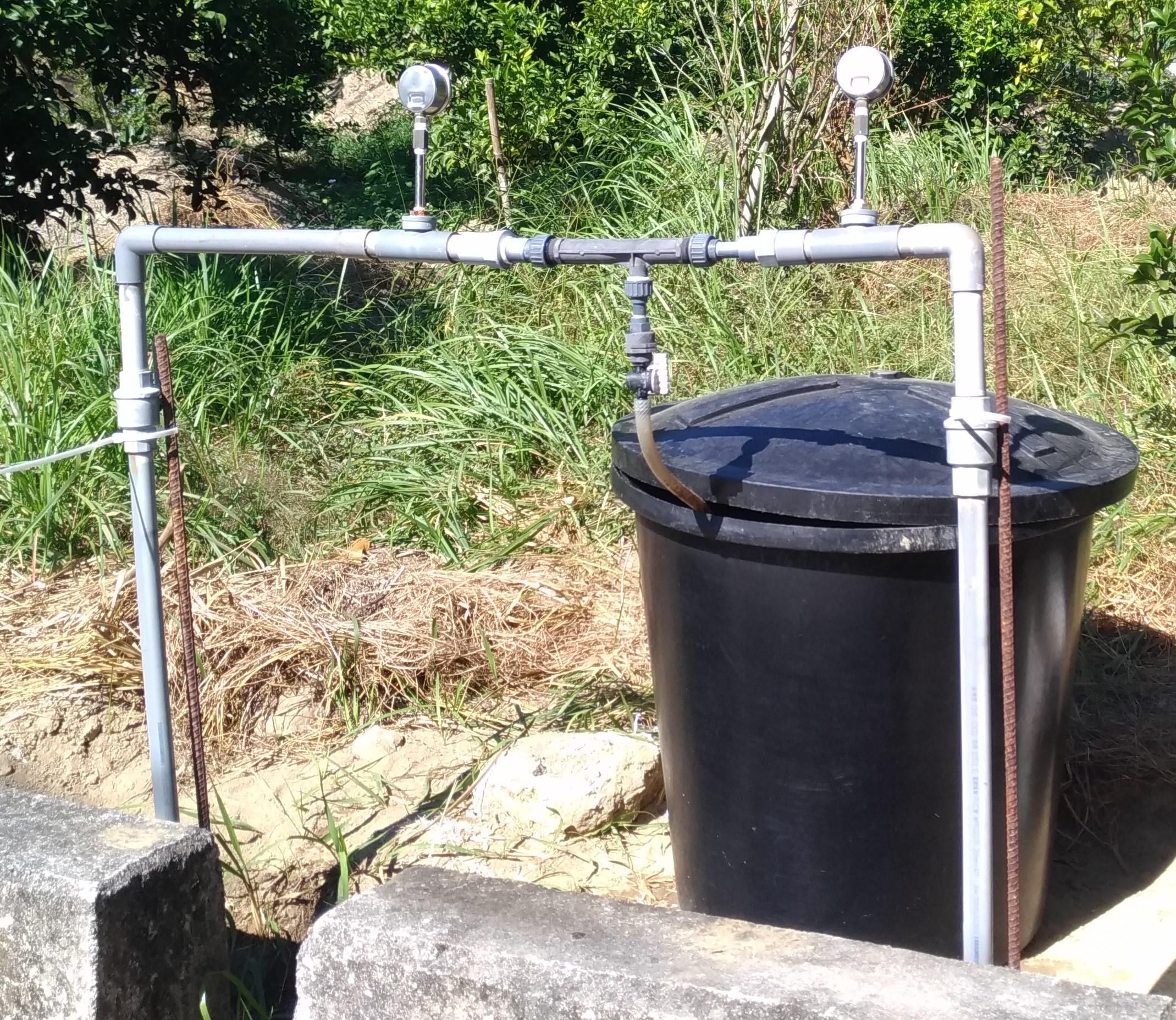 給水管道加裝注肥器,提供給水同步給肥之省工設施