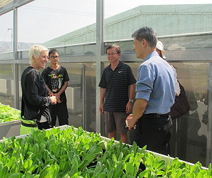 Cooperate with Netherlands to establish a greenhouse model which is suitable for sub-tropical climate, and to hold a training course on techniques of greenhouse fruit vegetables production in 2013
